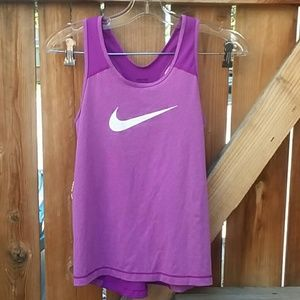 Nike pro dri fit racerback workout tank top large
